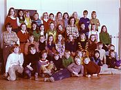 1973 WillemBarentzschool 3e klas.jpg